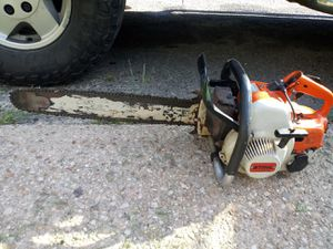 21 in Stihl chainsaw commercial grade for Sale in Capitol Heights, MD