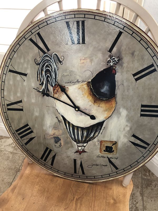 "Wall clock 24"" diameter"