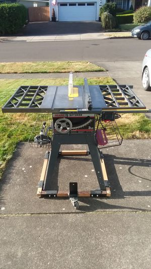 Craftsman table saw for Sale in Newberg, OR