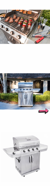 NEW Patio Gas Grill 4 Burner Bbq Stainless Steel Side Outdoor Barbecue Cooking Heater Cart Grilling Steak Burgers Electronic Igniter *↓READ↓* for Sale in Chula Vista, CA