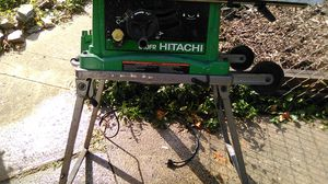 Hitachi table saw great condition for Sale in Charlotte, NC