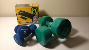 26 lb dumbbell and ankle weight set for Sale in Columbus, OH