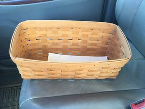 Longaberger bread basket for Sale in Rancho Cucamonga, CA