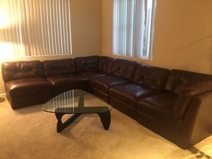 Sectional Couch and Dining Table for Sale in San Ramon, CA