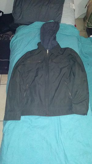 Wilsons Leather hooded medium polyester green for Sale in Phoenix, AZ