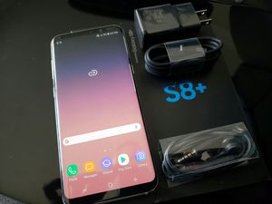 Samsung Galaxy S8 plus , Excellent Condition, FACTORY UNLOCKED. for Sale in Springfield, VA