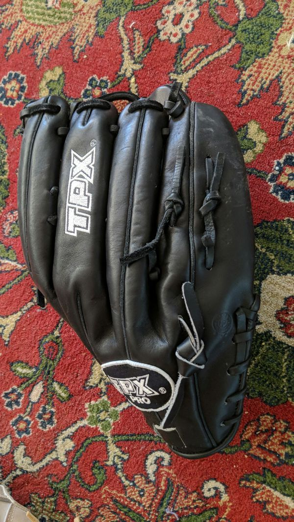 Left-handed TPX pro edition baseball glove softball glove