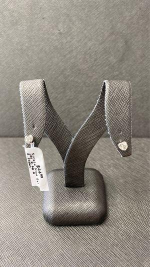 18K White Gold Heart Earrings for Sale in Miami, FL