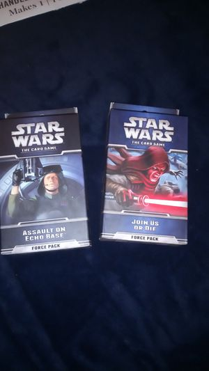 Game cards Star wars for Sale in Sacramento, CA