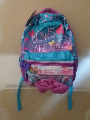 MAKE AN OFFER - JoJo Siwa Girls Backpack With Hair Bow Tie - New Without Tags for Sale in Los Angeles, CA