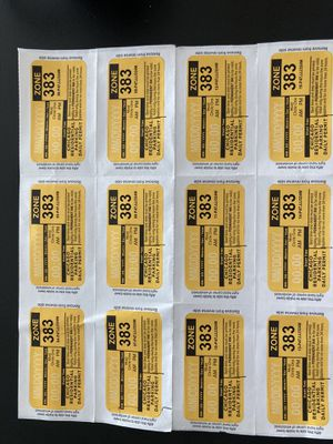 Having holiday guests? Chicago parking permit stickers for Sale in Chicago, IL