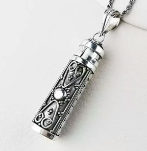 Pure 925 Silver Pendant For Women And Men, Openable for Sale in Wichita, KS
