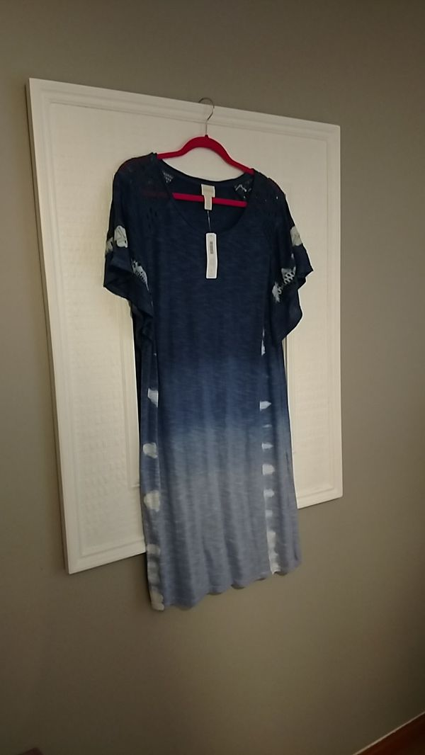 CHICO's New w tags Dress Size 2 (L)