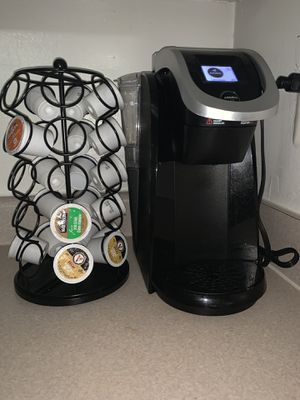 Keurig 2.0 touch screen with kcup holder! for Sale in Arlington, VA