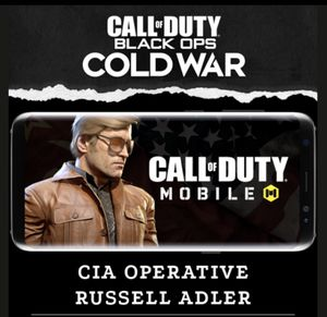 Russell Adler COD Mobile code for Sale in Miami, FL