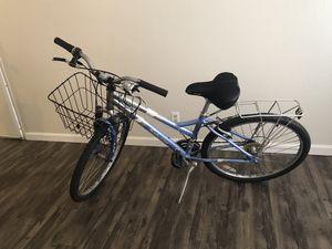 schwinn Cimarron 26-in women bike with Basket and rack!!! for Sale in San Jose, CA