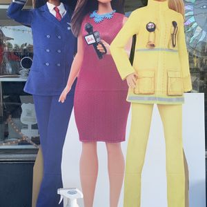 Barbie cardboard cut out 4 feet tall for Sale in Santee, CA