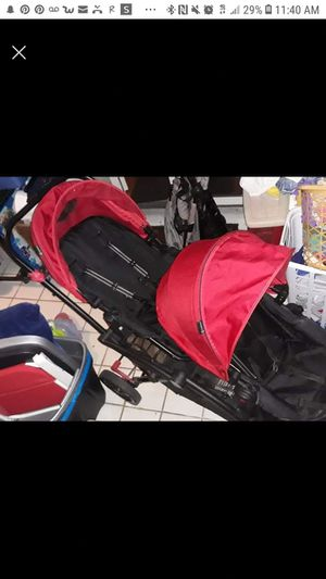 Contour options double stroller red for Sale in West Palm Beach, FL