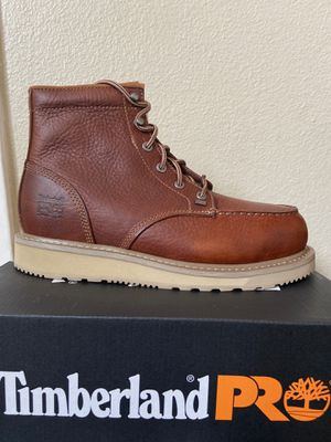 Timberland PRO Soft Toe Work Boots/Botas de trabajo Timberland PRO sin casquillo for Sale in Highland, CA
