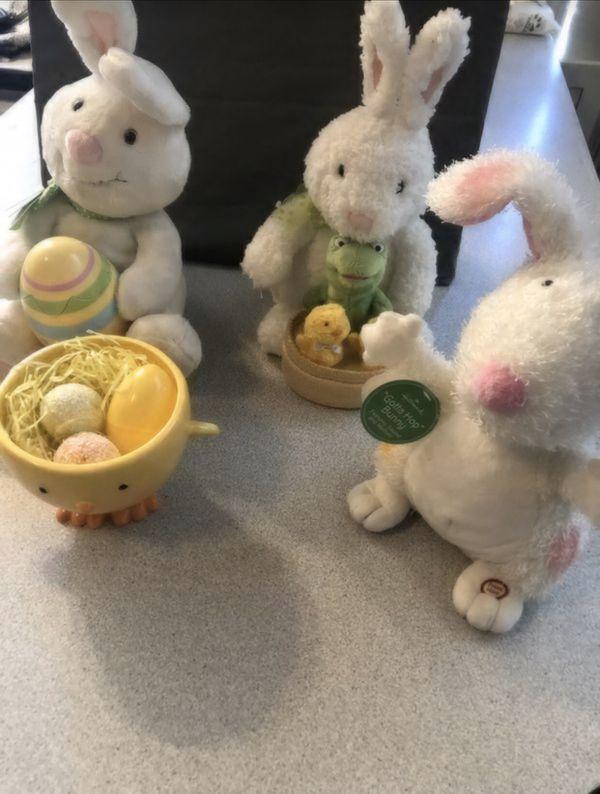 Easter bunny hallmark dancing bunny's