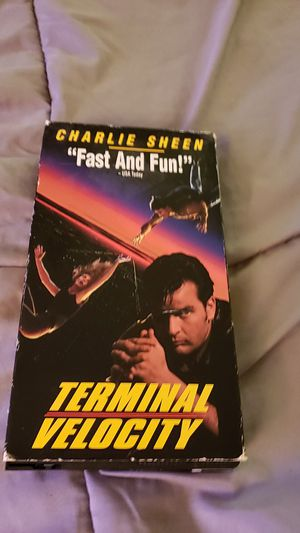 Charlie Sheen, Terminal Velocity for Sale in Portland, OR