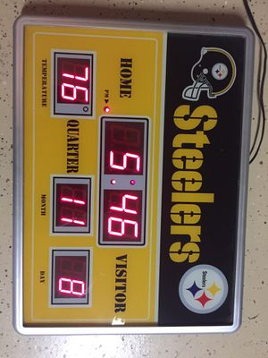 STEELERS LIGHTS SIGHT GREAD CONDITION for Sale in Perris, CA