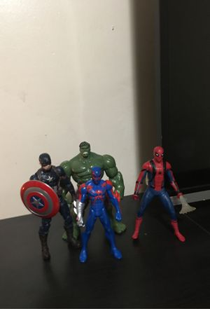 4 great action figures for Sale in Los Angeles, CA