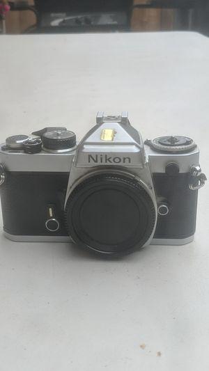 Nikon FE 35mm film camera body for Sale in Watsonville, CA