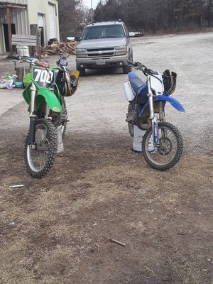 Kx 250 2 stroke down to trade for bigger bike or four wheeler for Sale in Cuba, MO