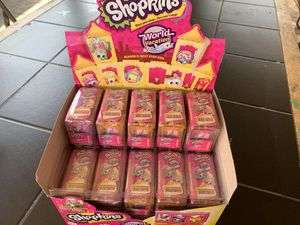 Shopkins world vacation 25 mystery packs for Sale in Los Angeles, CA