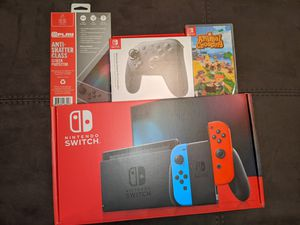 Nintendo Switch animal crossing bundle for Sale in Tampa, FL
