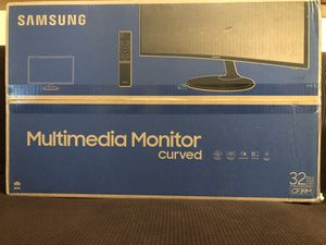 """Samsung Curved Multimedia Monitor 32"""" computer Monitor for PARTS ONLY for Sale in Riverdale, GA"""