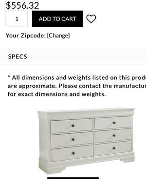 Dresser brand new $300 for Sale in Tracy, CA