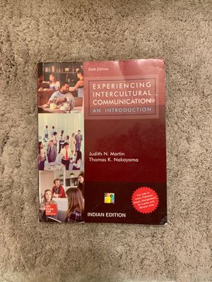 Experiencing Intercultural Communication an Introduction for Sale in Lincoln, NE