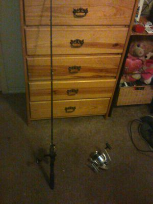 Fishing Rod and 2 Reels for Sale in Odessa, FL