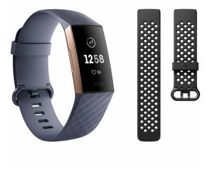 Fitbit Charge 3 Rose Gold With Bonus Band for Sale in Mount Rainier, MD