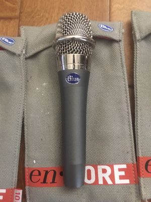 3 Blue Encore 100 dynamic mics for sale for Sale in Chino Hills, CA