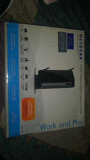 Netgear Modem Router for Sale in Orange, CA