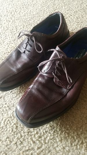 BROWN Leather Shoes w/ Memory Foam for Sale in Fairfax, VA
