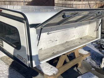 Truck Bed Toper With Toolbox Work On Any Short Bed for Sale in Lincoln,  RI