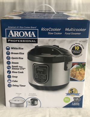Brand New Aroma Professional 10 Programmed Functions Multicooker for Sale in El Cajon, CA