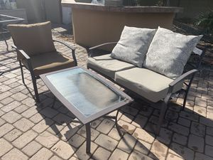 Outdoor Patio Furniture Chair and Table for Sale in Mesa, AZ