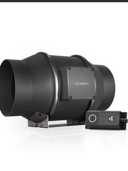 CLOUDLINE S6, QUIET INLINE DUCT FAN SYSTEM WITH SPEED CONTROLLER, 6-INCH for Sale in San Jose,  CA