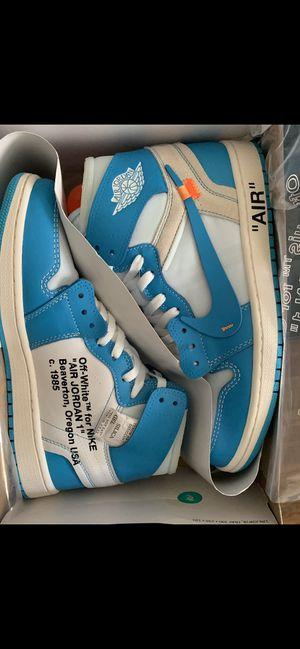 Jordan 1 Retro High Off-White University Blue for Sale in Palm Bay, FL