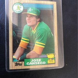 Jose Canseco Baseball Card for Sale in Placentia, CA