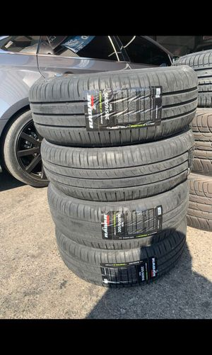 BRAND NEW TIRES 205/60r16 RADAR DIMAX FOR SALE ALL 4 TIRES $260 WITH FREE MOUNT AND BALANCE for Sale in San Jose, CA