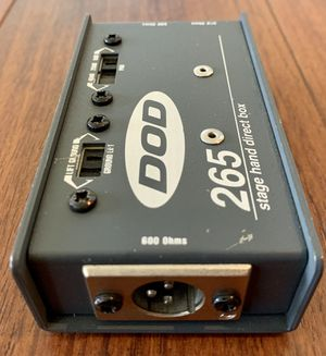 """DOD 265 stage hand direct box 1/4"""" to XLR for Sale in Nipomo, CA"""