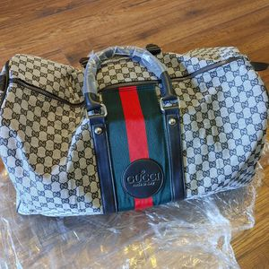 Designer Travel Duffle Bag for Sale in Vista, CA