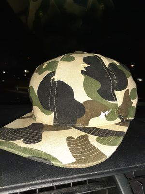 Bathing ape first gen camo hat snap for Sale in Orlando, FL
