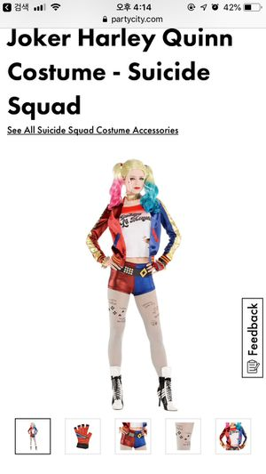 Party City Harley Quinn Full Set Costume(Bat,Hairspray,makeupset included) for Sale in MONTE VISTA, CA